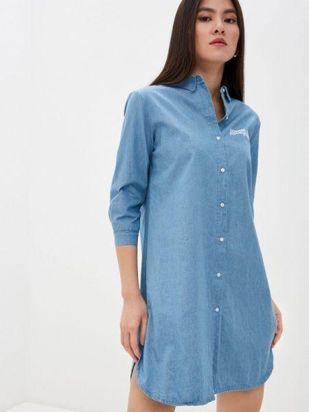 Синее джинсовое платье Comme Des Fuckdown