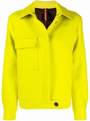 Желтая куртка с воротником Ps Paul Smith