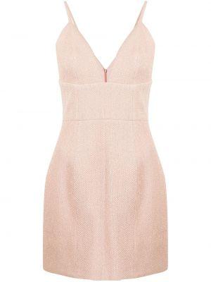Приталенное платье мини - розовое Manning Cartell