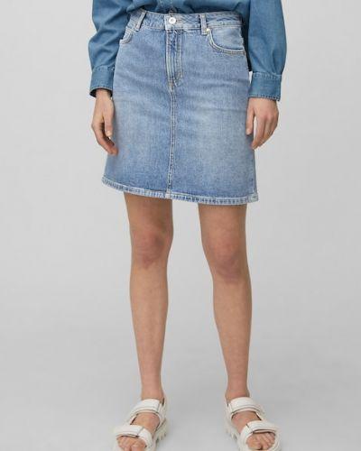 Niebieska spódnica vintage Marc O Polo
