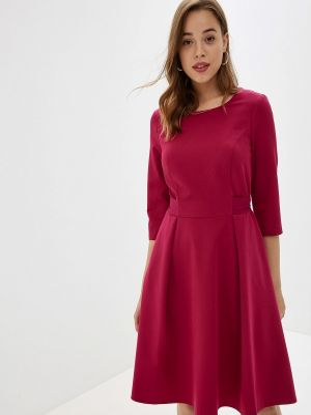 Платье розовое прямое Likadis