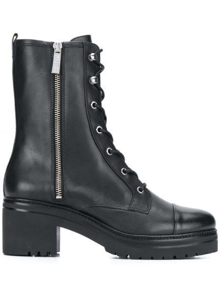 Buty na obcasie na pięcie czarne Michael Michael Kors