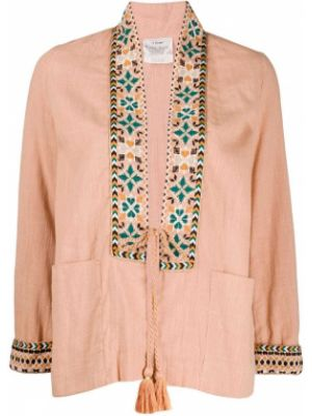 Куртка розовая с карманами Forte Forte