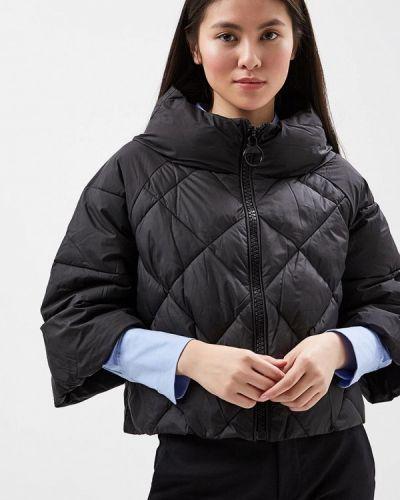 Утепленная куртка весенняя черная Tantra