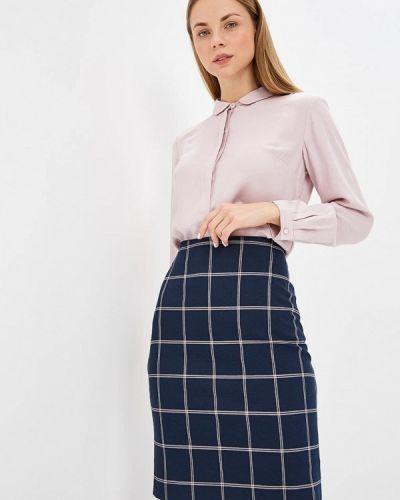 Блузка с длинным рукавом розовая осенняя Classik-t