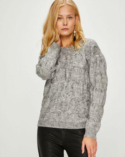 Вязаный свитер с узором трикотажный Morgan