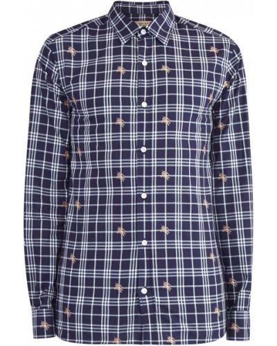 Рубашка в клетку прямая Burberry