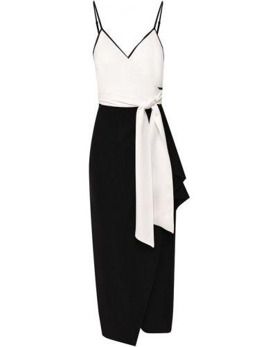 Платье с поясом с запахом каскадное Diane Von Furstenberg