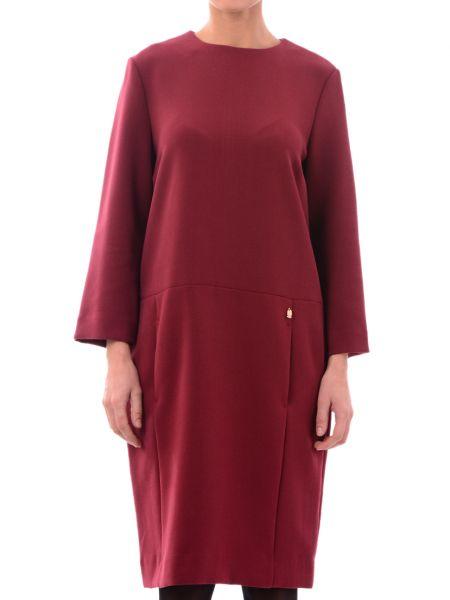 Платье из вискозы - красное Marina Yachting