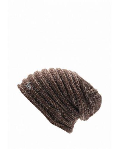 Коричневая шапка бини Staix