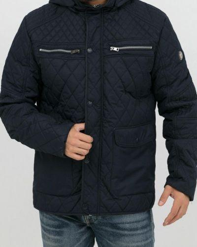 Утепленная куртка демисезонная синяя Jan Steen