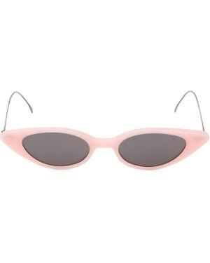 Złote różowe okulary Illesteva