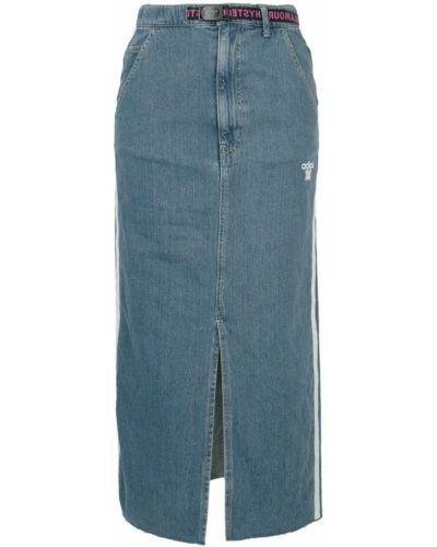Джинсовая юбка синяя Hysteric Glamour