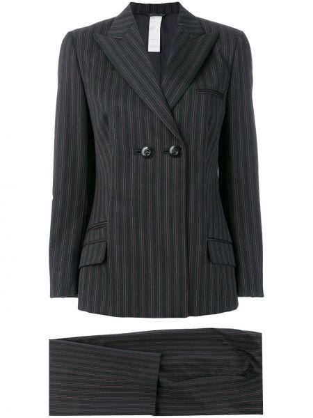 Spodni garnitur długo dwurzędowy Versace Pre-owned