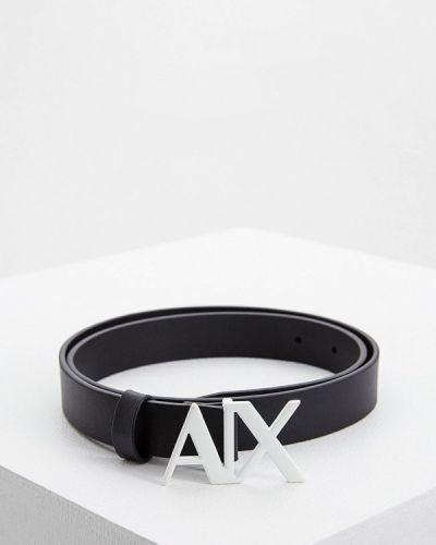 Ремень черный Armani Exchange