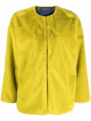 Зеленая куртка из полиэстера Gianluca Capannolo