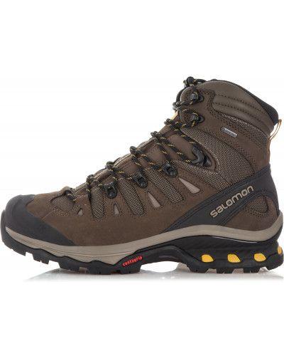 Треккинговые ботинки кожаные мембранные Salomon