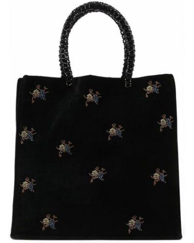 Czarna torebka Shrimps