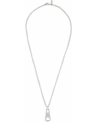 Серебряная подвеска металлическая Paul Smith