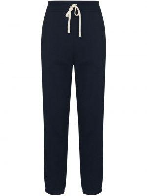 Спортивные брюки из полиэстера - синие Polo Ralph Lauren