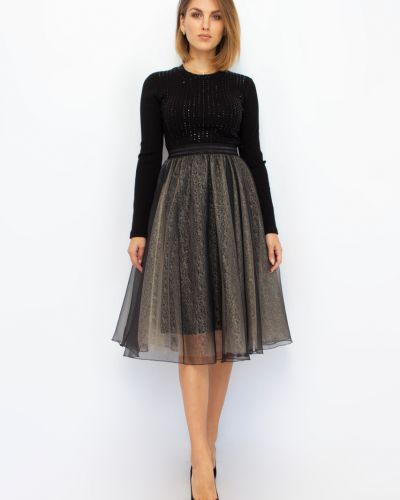 Расклешенное платье - черное Espiga