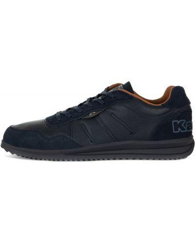 Кроссовки на шнуровке синий Kappa