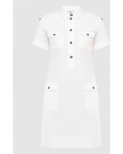 Платье миди - белое Etro