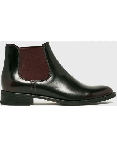 Кожаные сапоги на каблуке Gino Rossi
