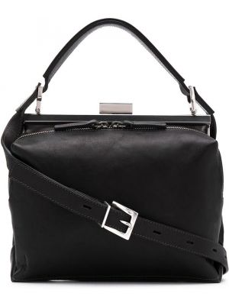 Черная кожаная сумка Ally Capellino