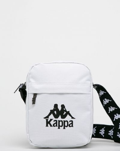 Текстильная сумка через плечо - белая Kappa