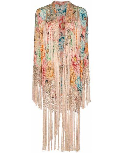 Кимоно с длинными рукавами винтажное One Vintage