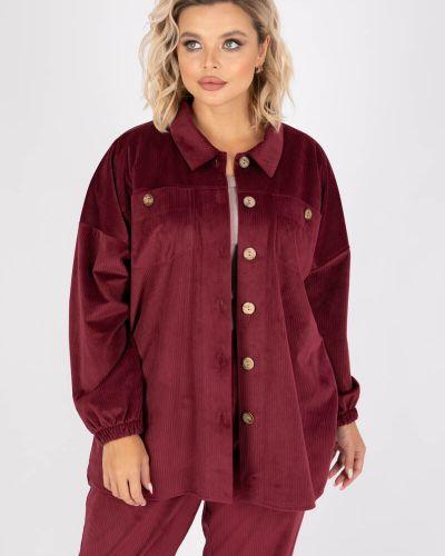 Красная рубашка на пуговицах Wisell