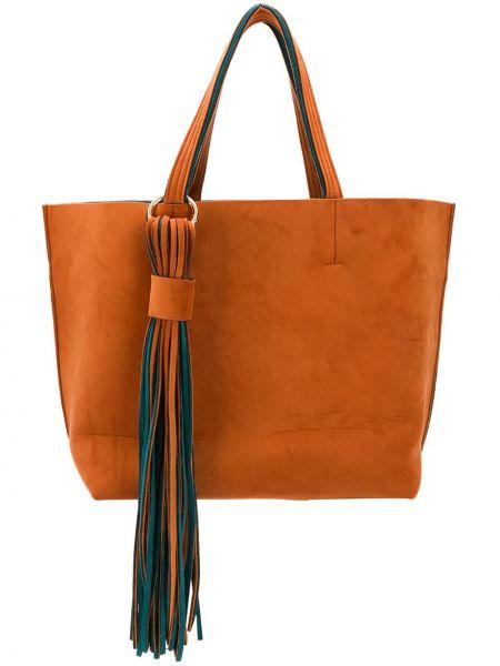 Оранжевая сумка-тоут Alila