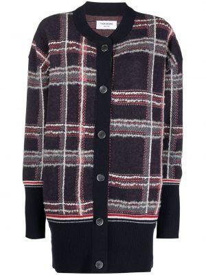Красное пальто миди Thom Browne