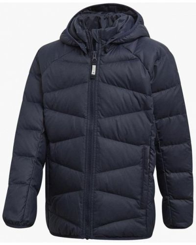 Куртка теплая синий Adidas