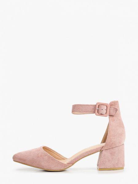 Замшевые туфли розовый Chiara Foscari