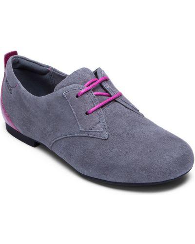 Туфли замшевый мягкий Ecco