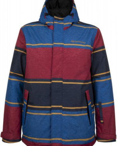 Куртка с капюшоном горнолыжная утепленная Exxtasy