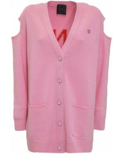 Różowy kardigan Givenchy