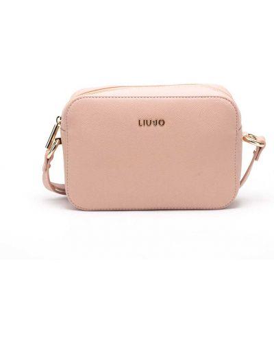 Różowa torebka skórzana Liu Jo