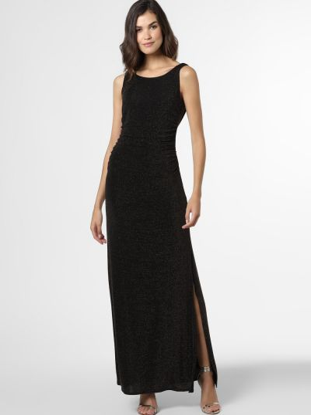 Czarna sukienka wieczorowa Ambiance