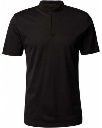 T-shirt bawełniana - czarna Drykorn