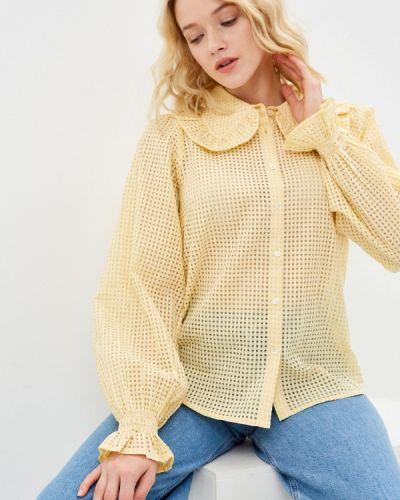 Блузка с длинными рукавами - желтая Part Two