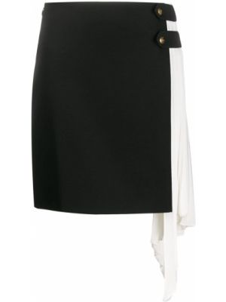 Czarna spódnica mini wełniana Givenchy
