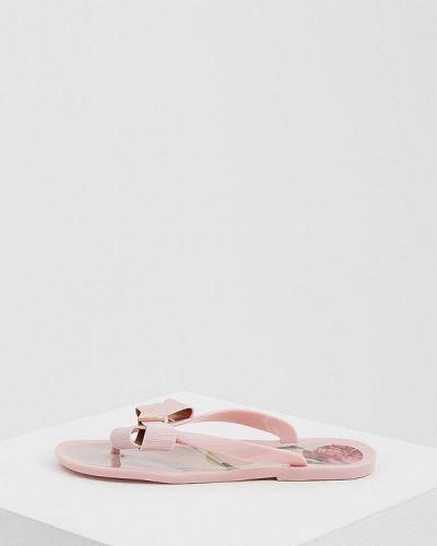 Розовые сланцы Ted Baker London
