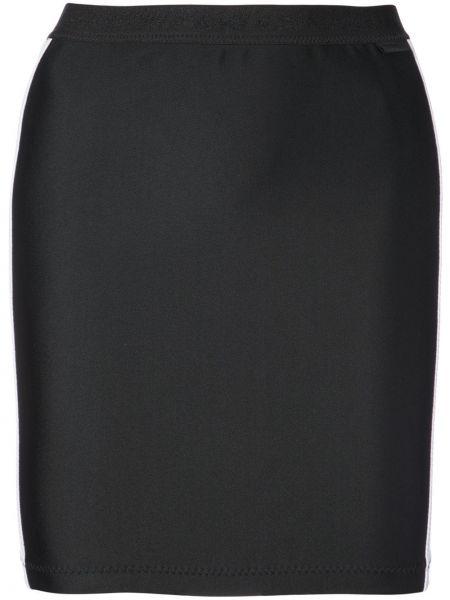 Юбка в полоску - черная Fenty X Puma