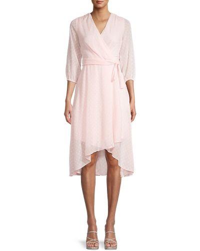 Шифоновое розовое купальное платье с поясом Tommy Hilfiger