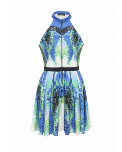 Платье мини итальянский синее Byblos