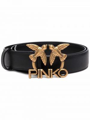 Кожаный ремень - черный Pinko
