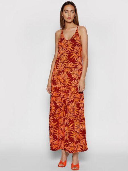 Pomarańczowa sukienka na lato Maaji